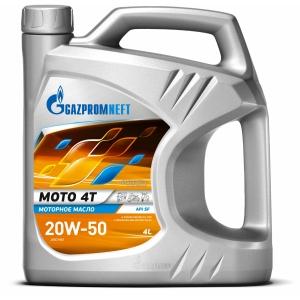 Gazpromneft Moto 4T 20W-50